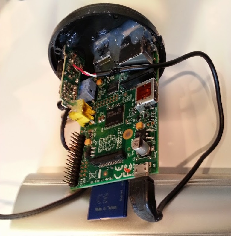 Homemade Security Camera based on Raspberry Pi
