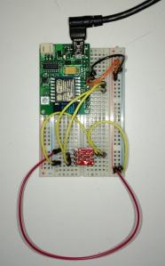 ESPToy with TMP102 Sensor
